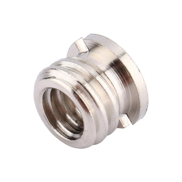 Female 1/4 to Male 3/8 Convert Screw Adapter for Tripod Monopod Ballhead DSLR SLR Camera