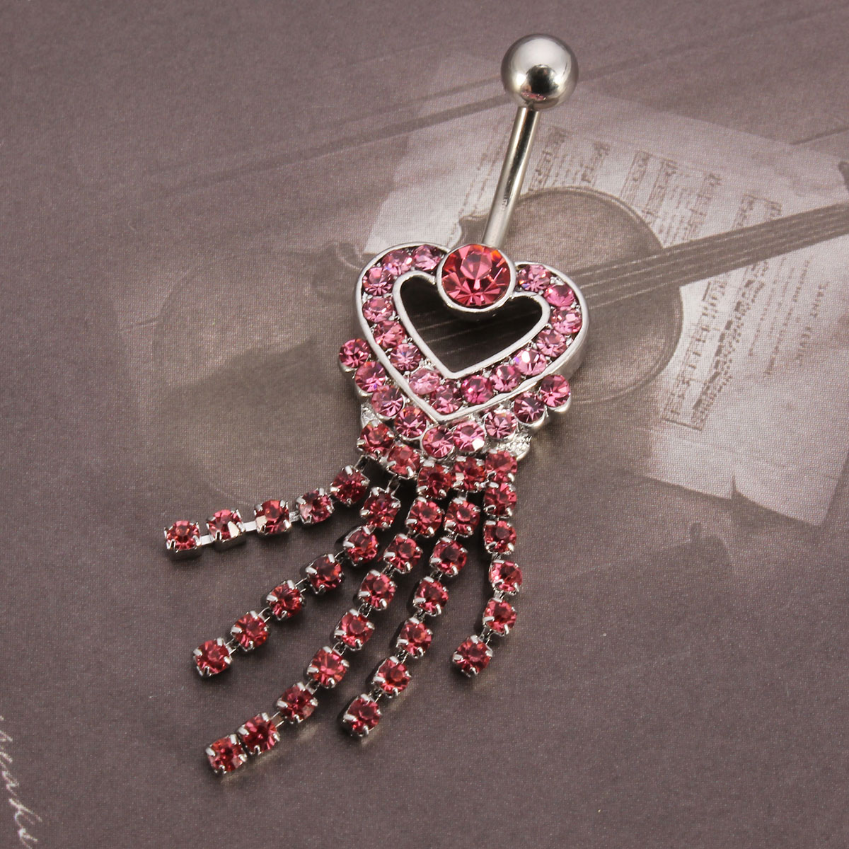 Navel Belly Piercing Ring Women Body Jewelry Decoration