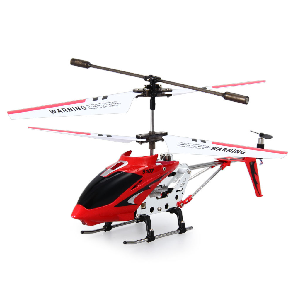SYMA S107G 3CH Infrared Mini RC Helicopter With Gyro RTF - Photo: 8