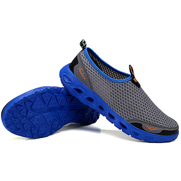 Lightweight Hollow Out Casual Sport Shoes In Mesh