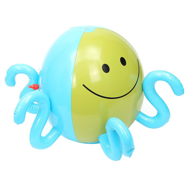 Inflatable Spray Water Ball Children Summer Outdoor Swimming Beach Pool Play