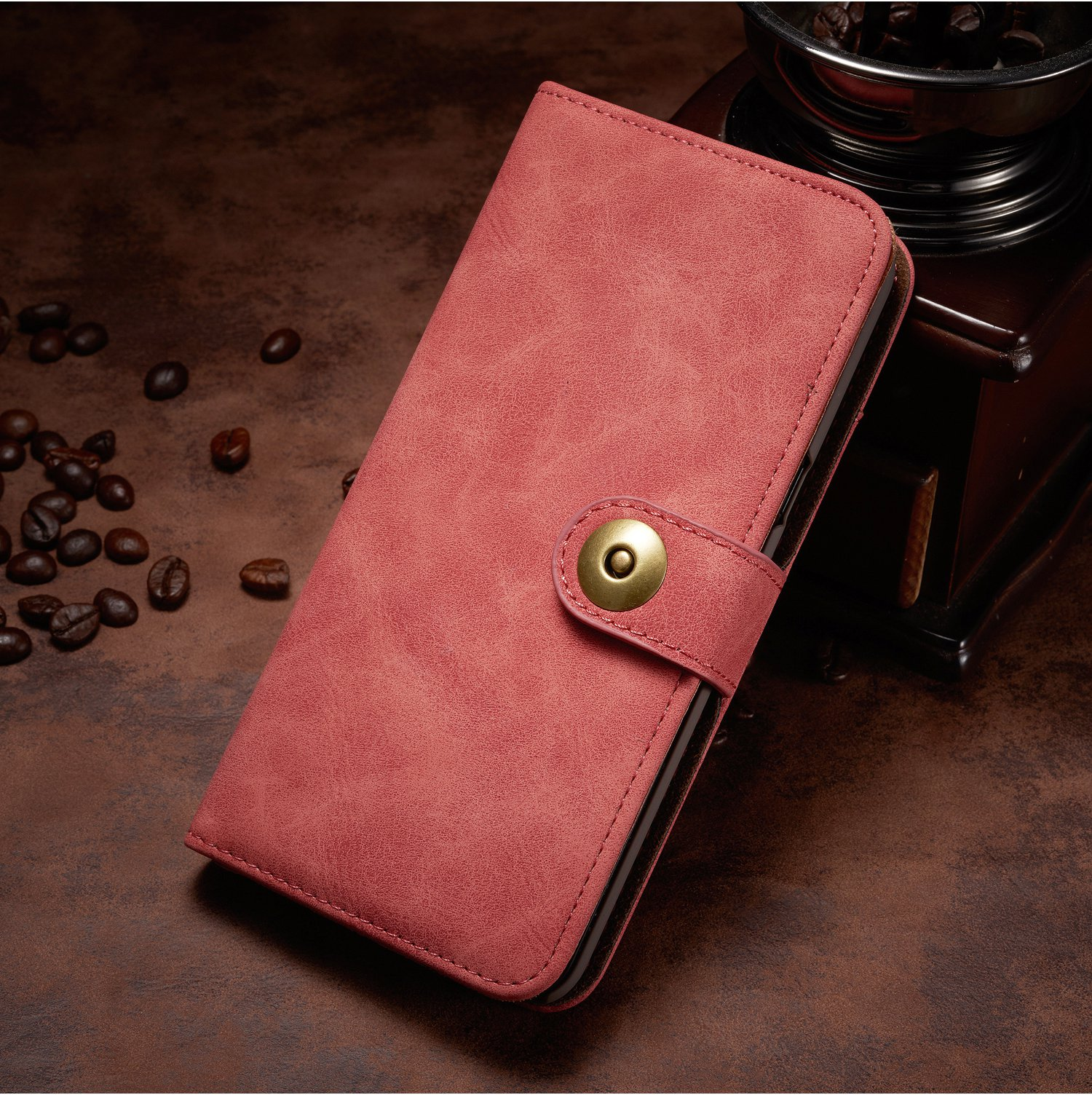 Magnetic Detachable Wallet Case For Samsung Galaxy Note 8/S8/S8 Plus