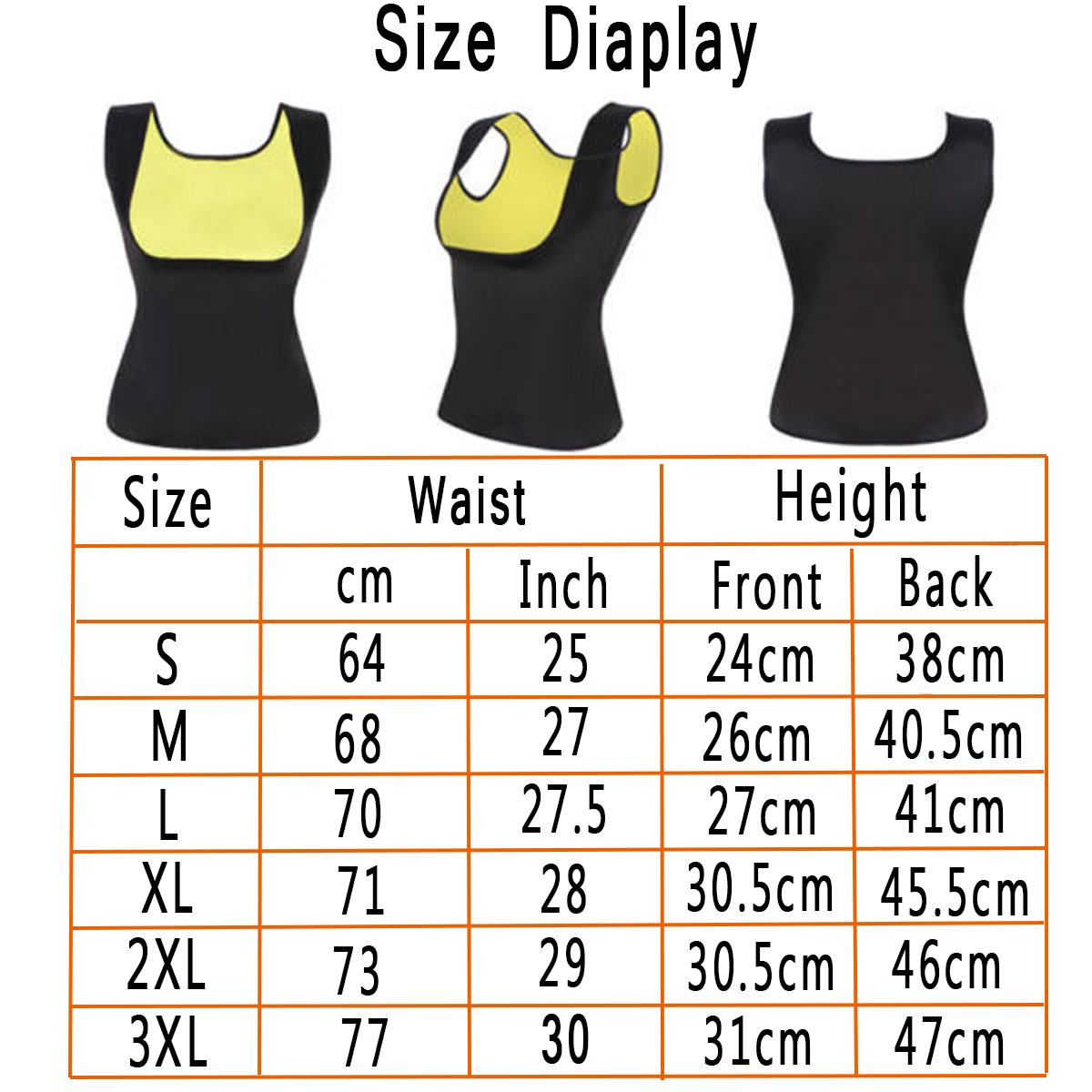 Women's Slimming Hot Sweat Vest Body Shaper Control Neoprene Tummy Fat Burner Shapewear Tracksuit