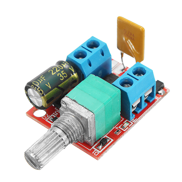 5V-30V DC PWM Speed Controller Mini Electrical Motor Control Switch LED Dimmer Module