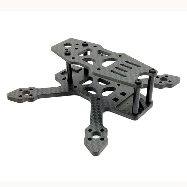 SPC 90NG 90mm Wheelbase 3mm Arm 3K Carbon Fiber RC Drone FPV Racing Frame Kit 18g