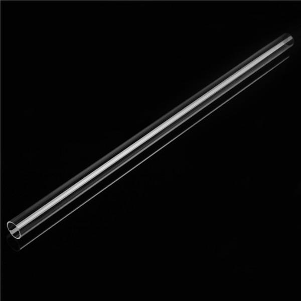 1.27cm OD x 1.1cm ID Acrylic Round Tube 30cm Length Clear Acrylic Plexiglass Lucite Tube
