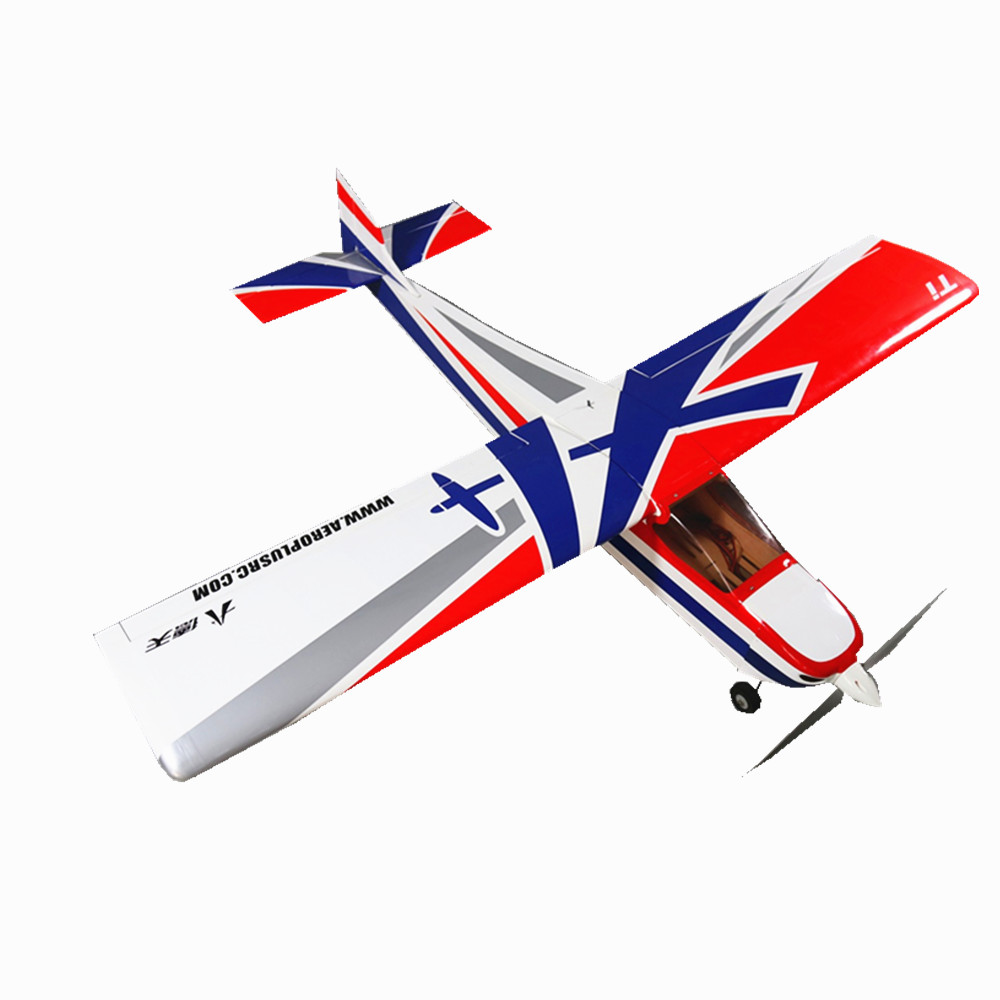 1500mm Wingspan 59 Inch Trainer Titanium RC Airplane Aircraft Electric/Electric Gasoline Version
