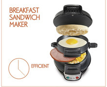 Breakfast Hamburger Maker Sandwich Maker Machine Quick Convenient Home Appliance