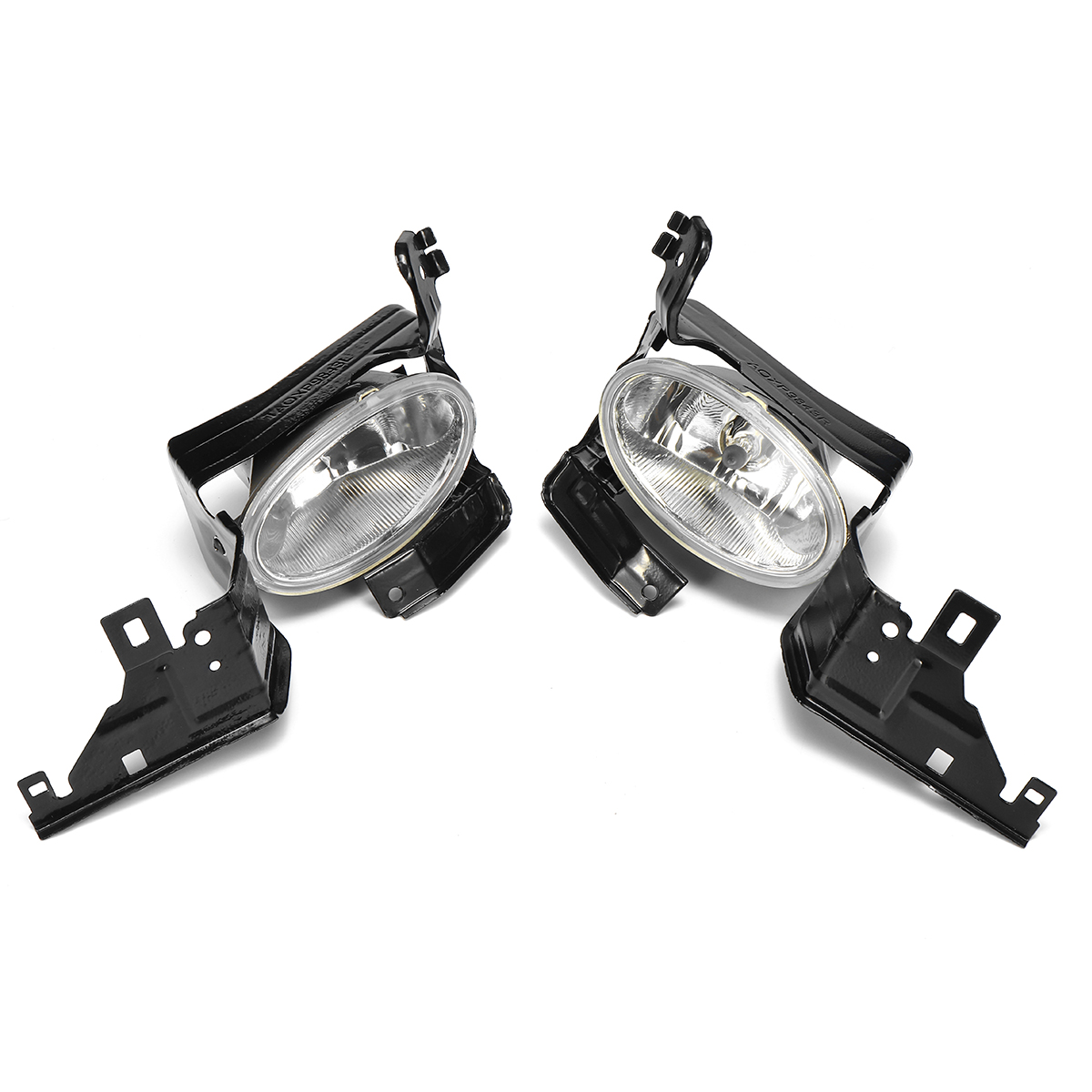 2Pcs Halogen Car Fog Lights Front Driving Bumper Lamp for Honda Accord 4DR EX SE LX 2011-2012