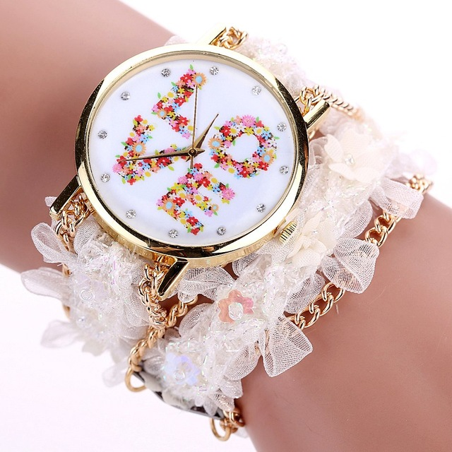 DUOYA XR1980 Dress Ladies Bracelet Watch