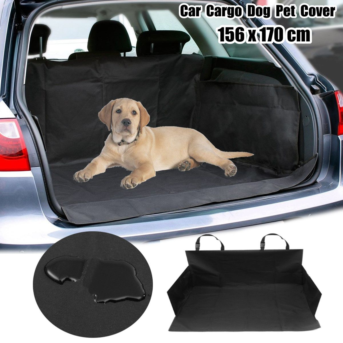 Waterproof Pet Dog Car Boot Seat Cover SUV/Trunk Protector Liner Mat Oxford