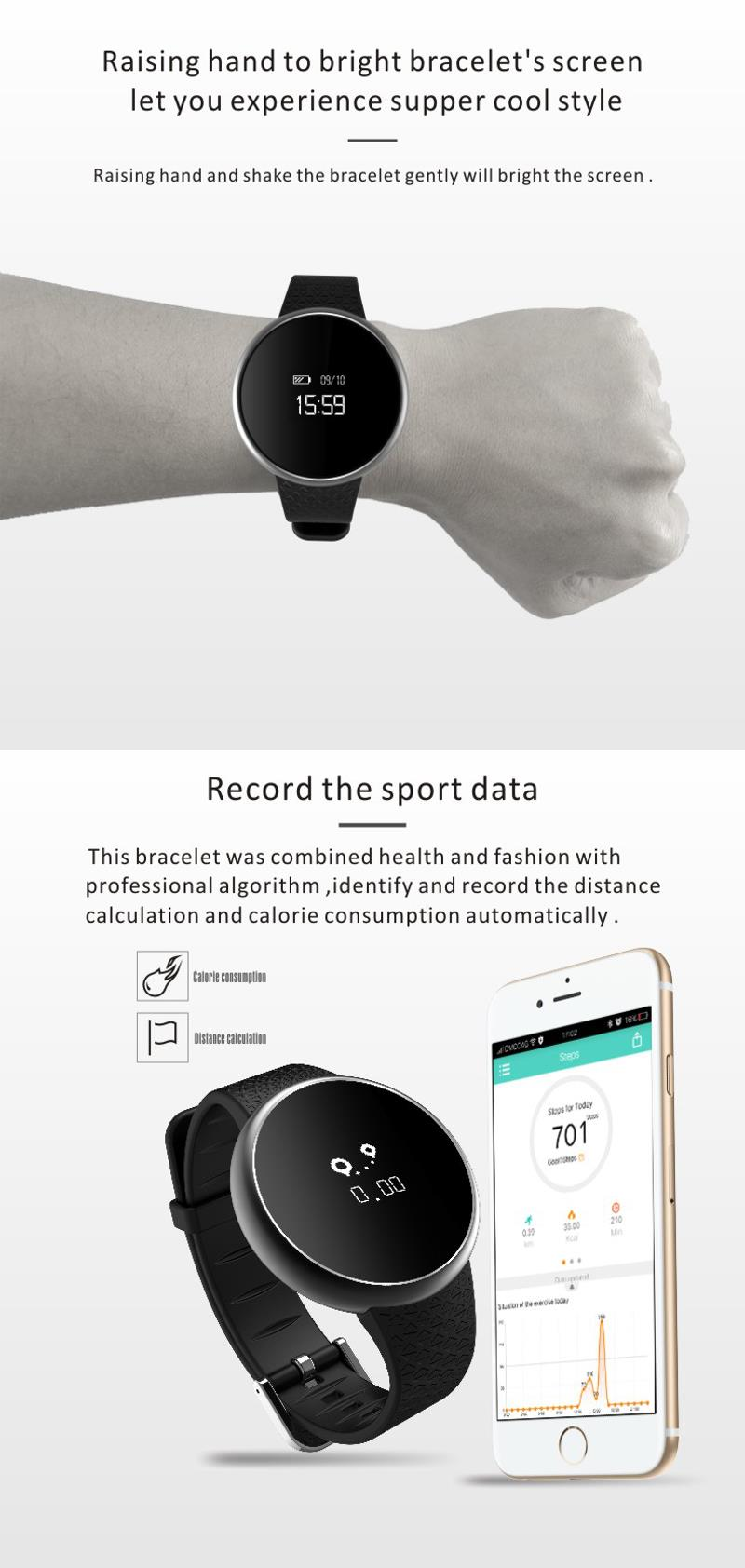 A98 Blood Pressure Oxygen Monitor Smart Bracelet Waterproof Smart WristBand For Android IOS