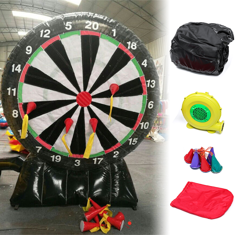 220V Throw Game 4M/13ft High Giant Inflatable Dart Board with Air Blower
