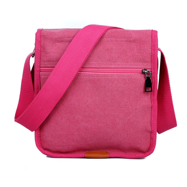 Women Canvas Belt Messenger Bags Vintage Shoulder Bags Ladies Casual Crossbody Bags