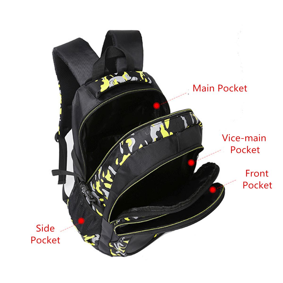 Men Waterproof Big Capacity Travel Outdoor Laptop Shoulders Bag School Backpack