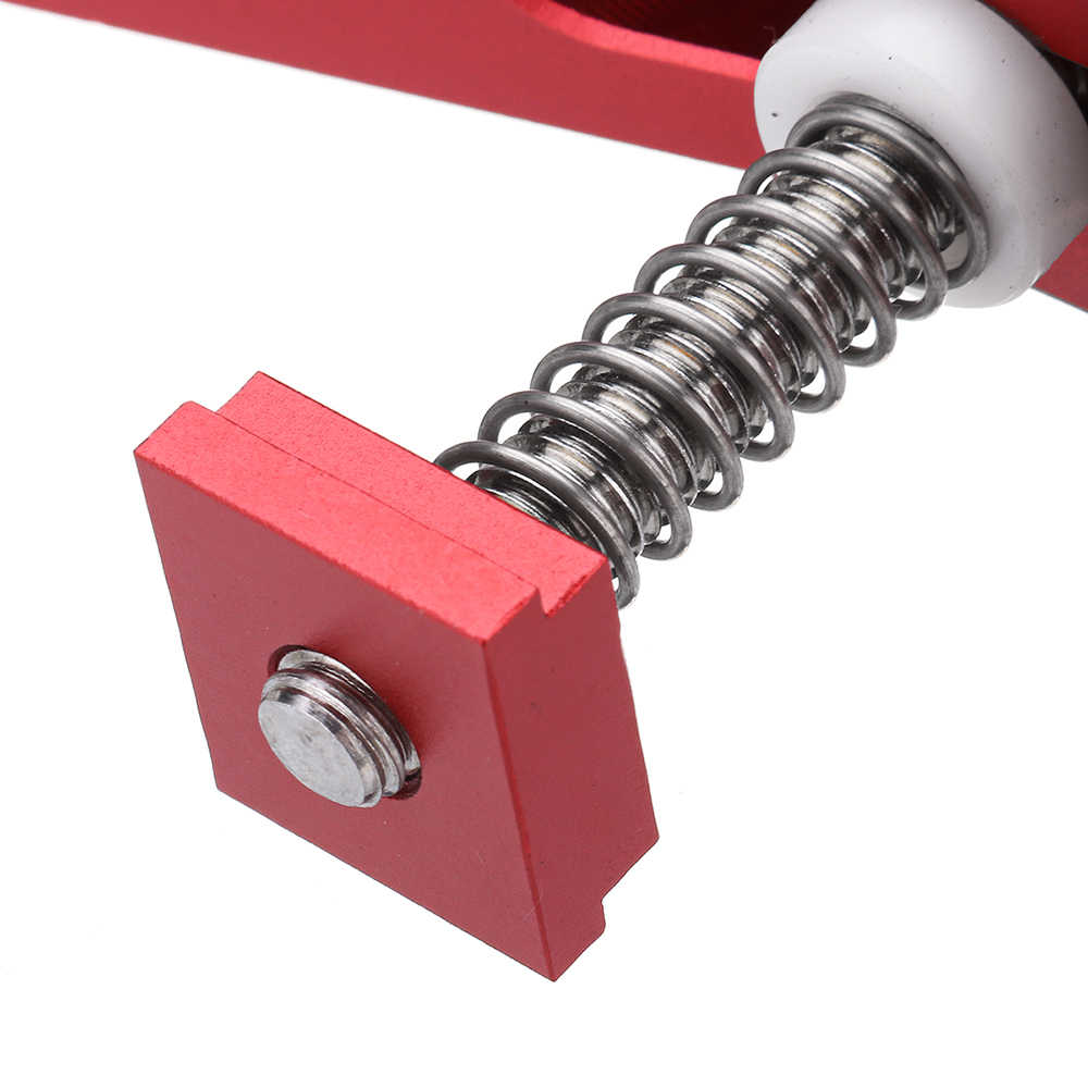 Drillpro Aluminum Alloy Quick Acting Hold Down Clamp T-Slot T-Track Clamp Set Woodworking Tool