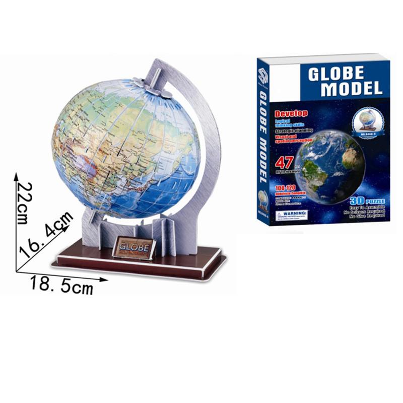 DIY 3D Solar System Nine Planet Paper Puzzle Model Kits For Kids Children Christmas Gift Toys
