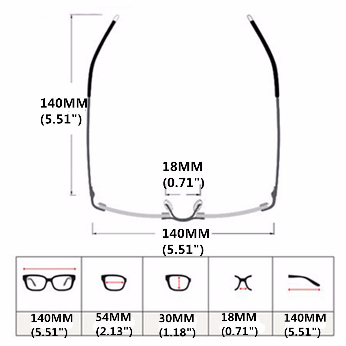 HDCRAFTER Vintage Men Women Retro Eyeglasses Frame Full-Rim Glasses Eyewear Clear Lens without Box