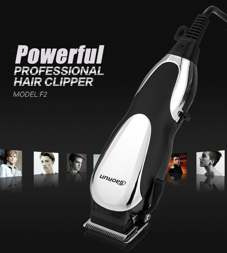 BaoRun F2 Pro Electric Hair Clipper Beard Shaver Trimmer Grooming Sharp Blade Low Noise 220V