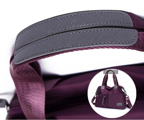 Women Nylon Multi Pocket Casual Durable Waterproof Handbags Crossbody Bags