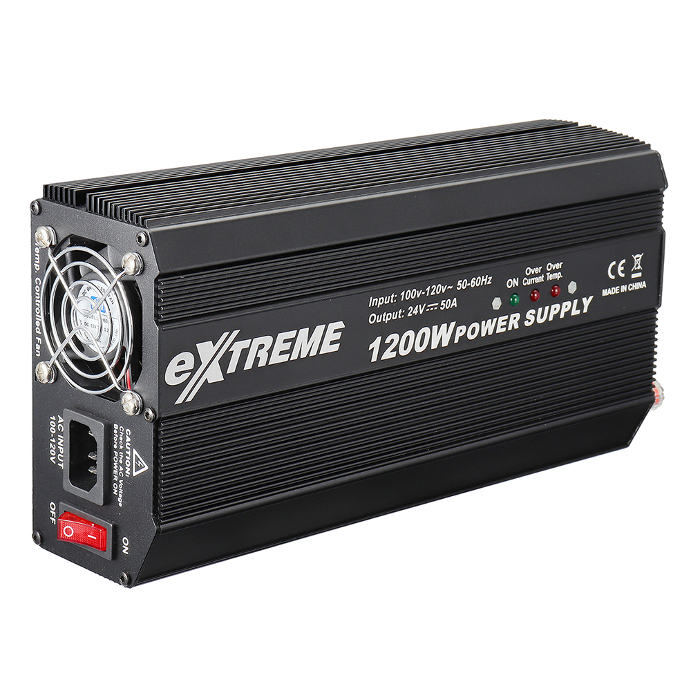 SKYRC Extreme PSU 1200W 24V 50A Power Supply Adapter For ISDT T8 icharger X6 308 4010 Charger