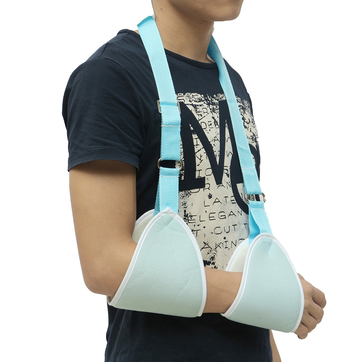 Arm Sling Shoulder Immobilizer Support Padded Pain Relief Brace Device