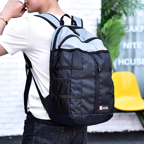 Men Nylon Multifunctional Anti Theft Backpack Casual Travel Business Mochila Laptop Bag Handbag