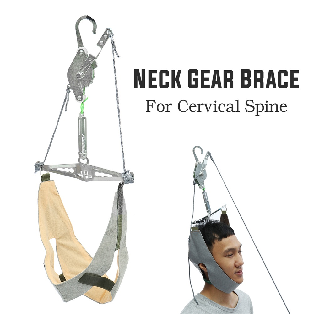 Over The Door Neck Cervical Traction Head Support Brace