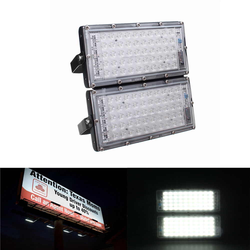 Image of 100W 100 LED Flood Light Outdoor Gartenwasserdichte Landschaft Sicherheit Lampe AC220V