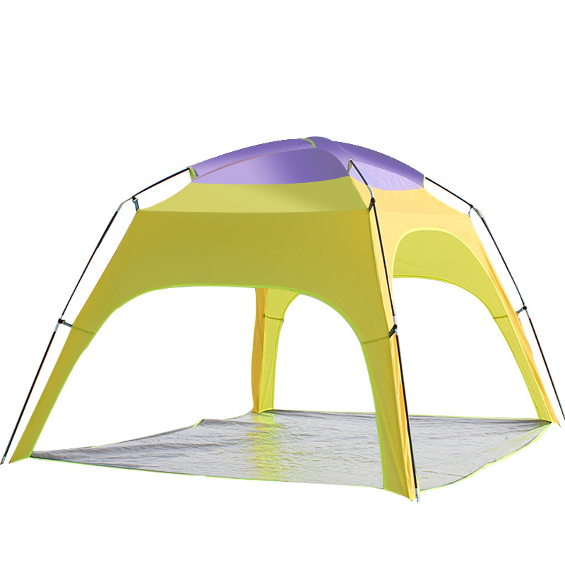 Outdoor 3-4 Persons Camping Tent Automatic Opening Beac