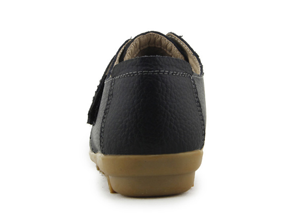 New Women Winter Cotton Flats Hook And Loop Round Toe Warm Flats
