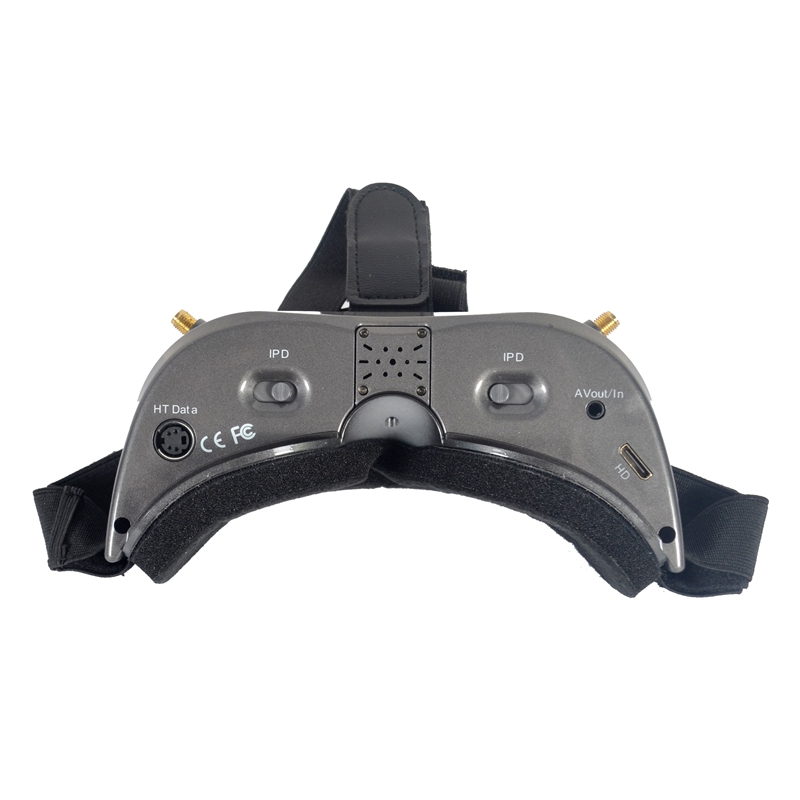 AOMWAY Commander V2 FPV Goggles 1080P 5.8G 64CH Headset HDin AVin Support Head Tracker