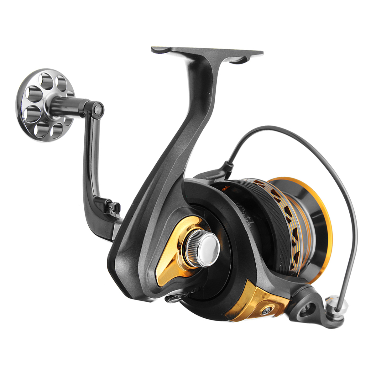 ZANLURE 5.2:1/4.7:1 13+1BB 4000-7000 Big Spool Spinning Fishing Reel Saltwater Casting Fishing Reel