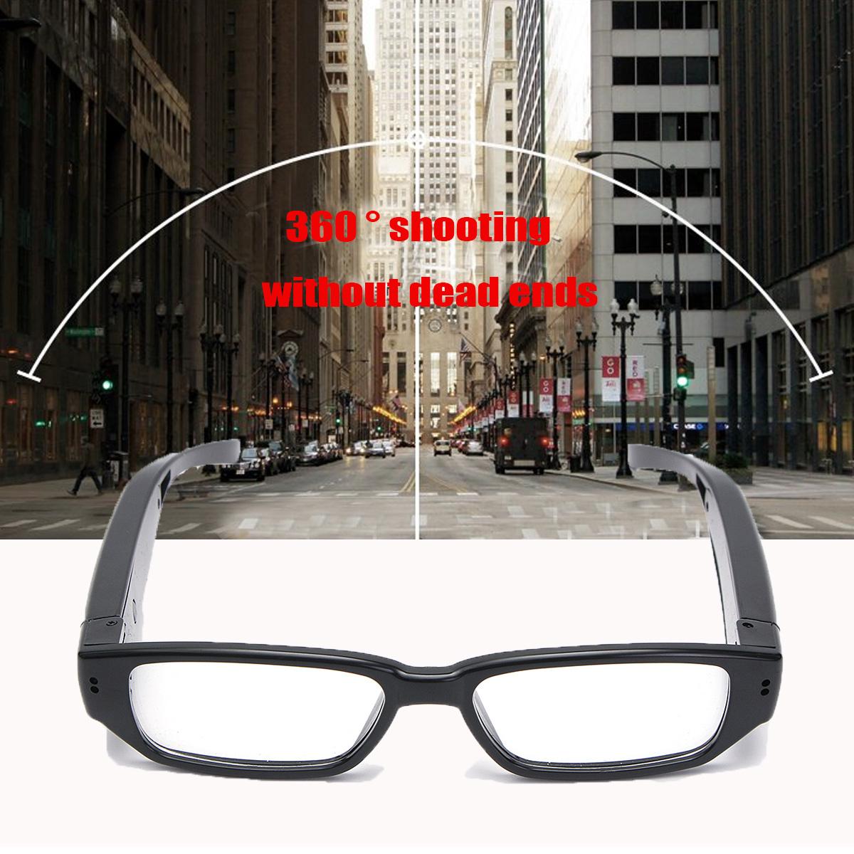 HD Glasses Hidden Camera Covert Eyewear Cam Video Recorder DVR Camcorder