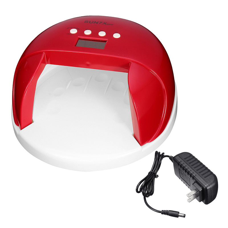 60W Led Nail UV Lamp Quickly Dry Nail Dryer