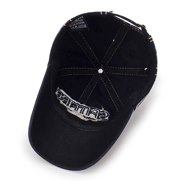 Mens Letter Embroidery Outdoor Sports Hat Baseball Cap