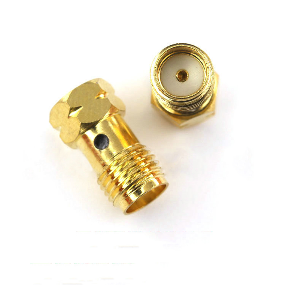 RF Coaxial Connector Fourth Generation IPX Male to SMA Female Connector Load 50 Ohm For FPV RC Drone