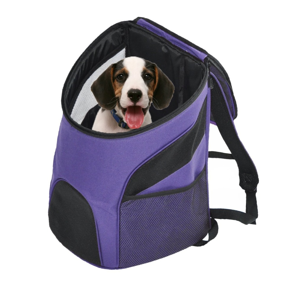 Pet Carrier Premium Travel Outdoor Mesh Backpack Carry Bag Accessory Dog Cat Rabbit Small Pets Cage