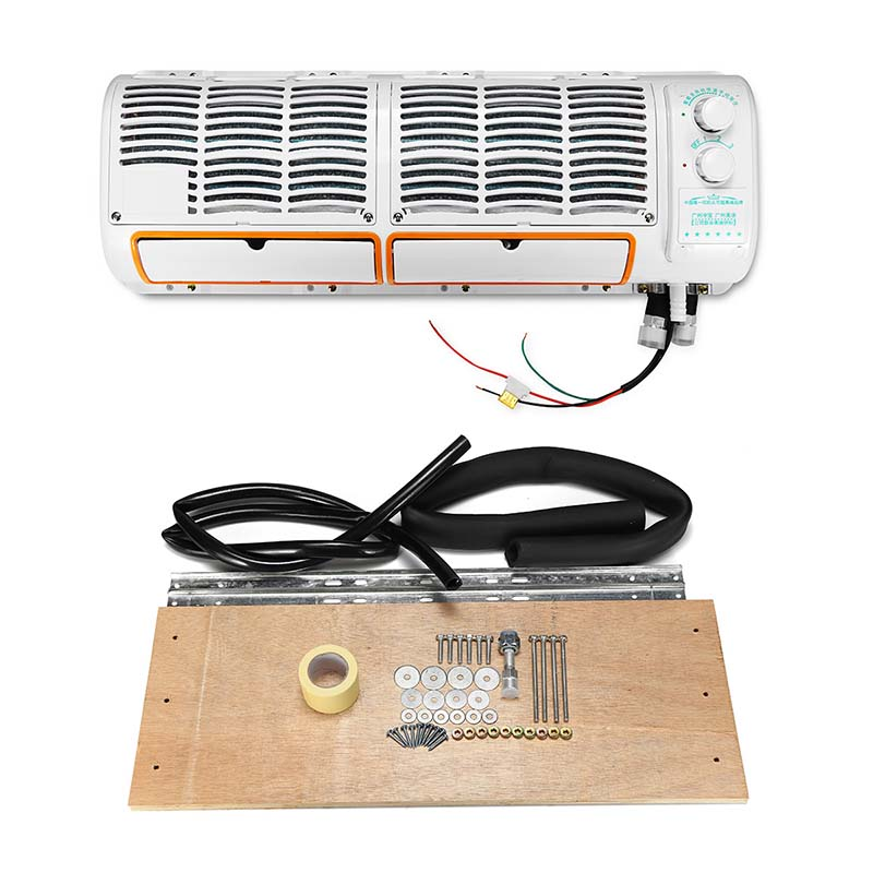 12/24V Air Conditioner Wall-mounted Cooling Fan For Caravan Truck Air Conditioning