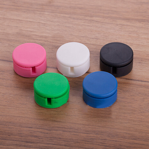 Multi-function Screen Cleaner Earphone Wire Cable Cord Bobbin Winder