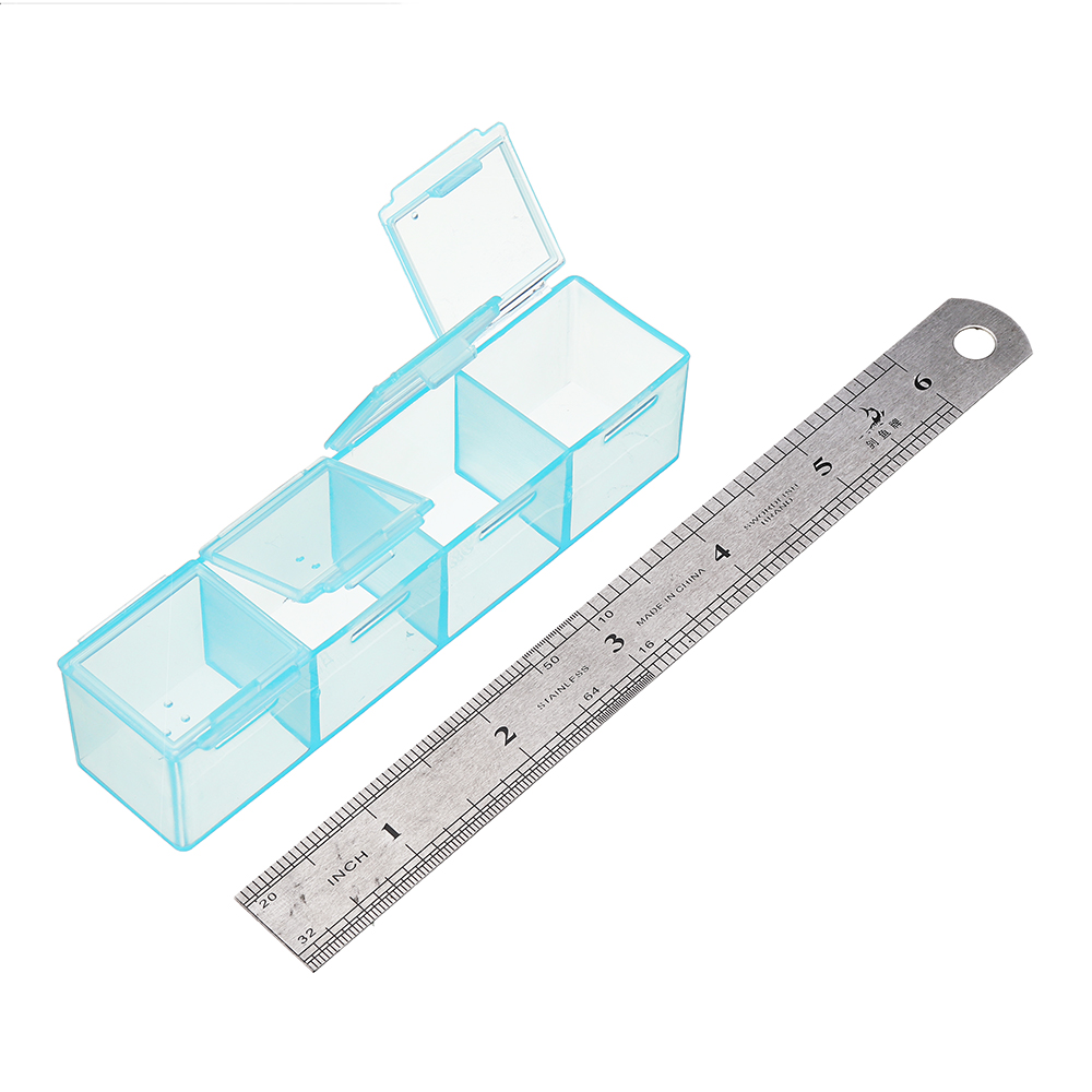 28 Grid Removable Screw Nut Tool Plastic Storage Box Case