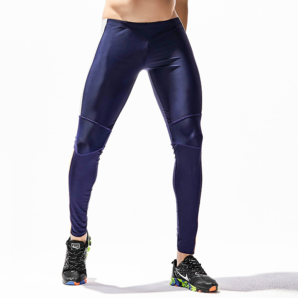 PRO Men's Elastic Tight Yoga Pants Casual Fitness Thin Running Jogging Sports Pants