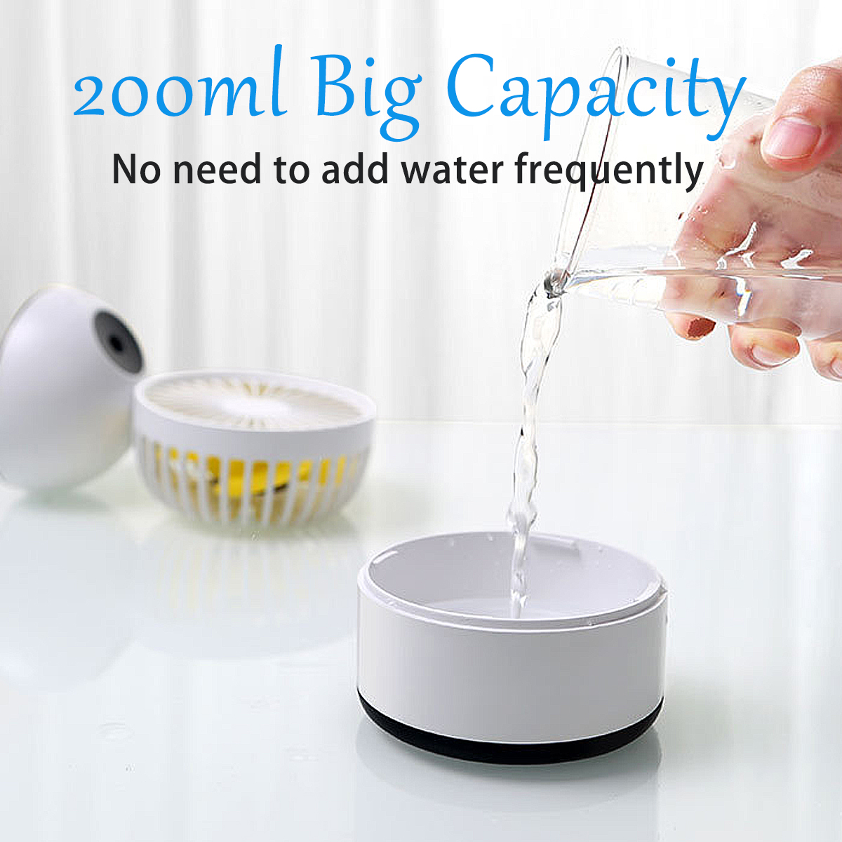 8W 5V Outdoor Portable Mini Air Conditioner Cooler Summer Artic Cooling Fan Spraying Humidifier
