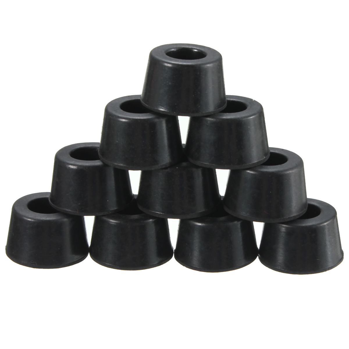 10pcs 16x13x10mm Rubber Chair Ferrule Anti Scratch Floor Table Feet Leg Protector
