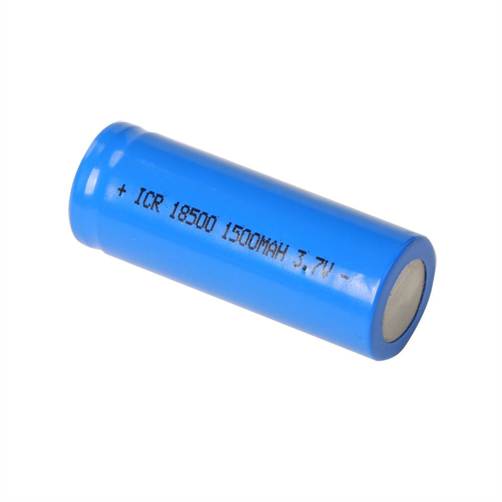 2 PC 3.7V 1500mAh 18500 Li-ion Battery for Frsky X-Lite Radio Transmitter