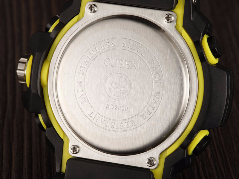 OHSEN AD2808 Men Fashion Outdoor Sports LED Watch