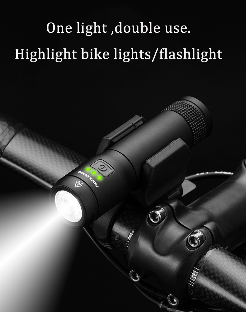 PROMEND ET-126 Cycling Bicycle Strong Front Light Waterproof USB LED Touch Bike