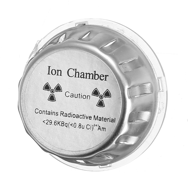Ion Chamber Metal Geiger Counter Check / Test Source Fire Alarm Security System Source Smoke Tester Sensor