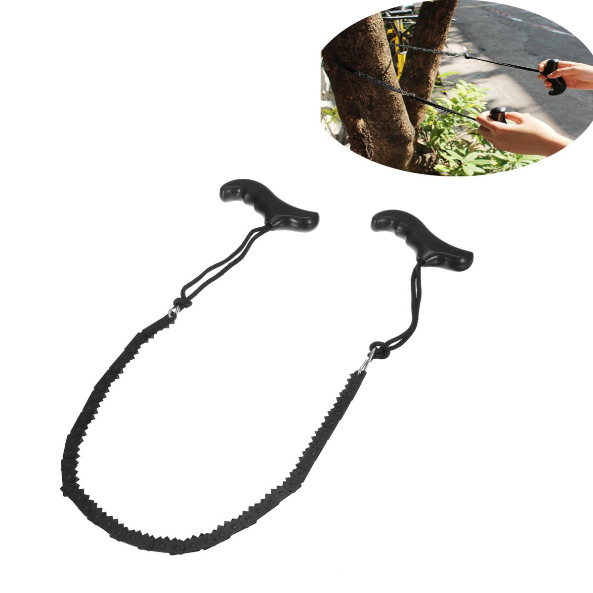 Pocket Foldable Chain Saw Chain Gear Garden Camping Eme