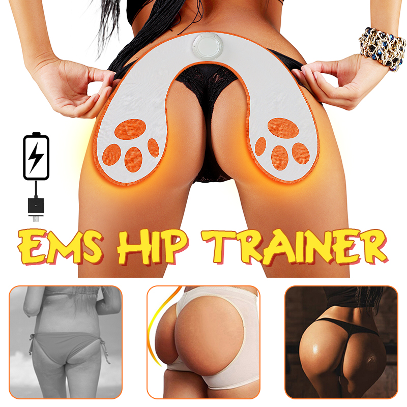 KALOAD EMS Hip Trainer Intelligent Buttock Lifting Up Rechargeable Hip Trainer Stimulation